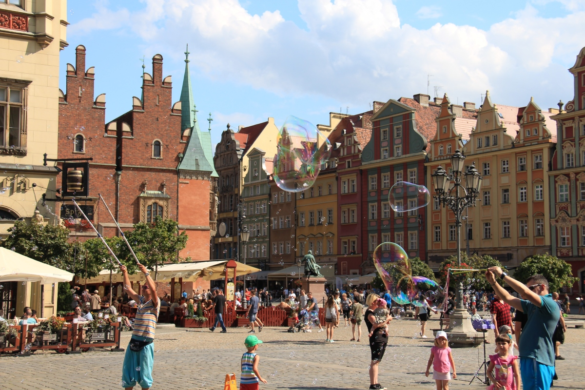 Wrocław: The City of 4 Countries