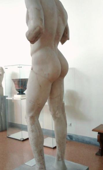 Apollo Omphalos' buttocks